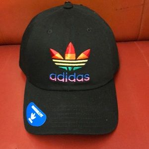 Black Adidas Pride Hat